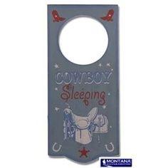 Montana Silversmiths Cowboy Door Hanger