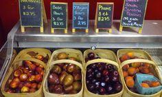 Fresh fruit in the summertime!