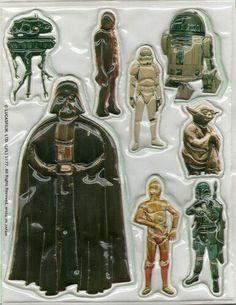 Star Wars Puffy Stickers