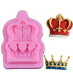 Crown Shaped Cake Molds Silicone Mold Fondant Cake Decorating Tools Kitchen Accessories