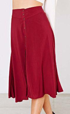 button down midi skirt  http://rstyle.me/n/qzh32pdpe