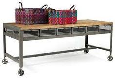 Znalezione obrazy dla zapytania table kitchen industrial