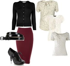"""red skirt ideas"" by aemorgan on Polyvore"