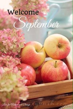 Welcome September! ❤️