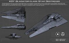 Gladiator-class Star Destroyer ortho [New] by unusualsuspex on DeviantArt
