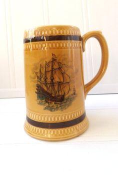 Vintage Sailing Beer Tankard / Mug by pentyofamelie on Gourmly