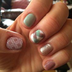 Easter gel nail art manicure  #nailsbyamanda