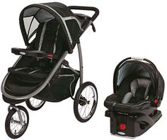 Graco Fast Action Fold Jogger Click Connect Travel System Stroller - RoadRunner