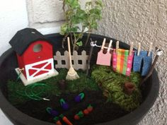 Fairy garden! ❤ by jacquelyn