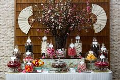 Japanese candy buffet. #candybuffet