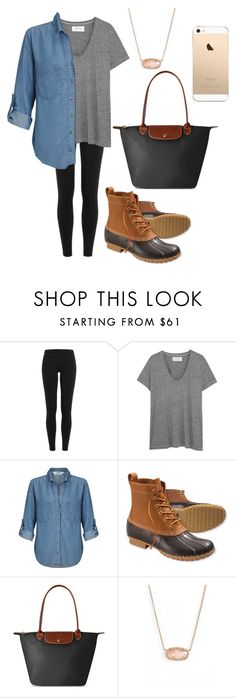 """""""fall fashion"""" by fashionblogger2122 on Polyvore featuring Polo Ralph Lauren, The Great, Miss Selfridge, L.L.Bean, Longchamp and Kendra Scott"""