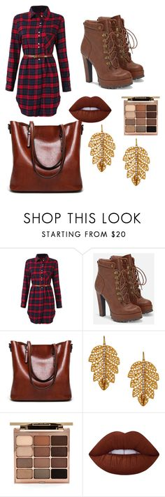 """""""Untitled #18"""" by sydneyoo on Polyvore featuring JustFab, Marika, Stila and Lime Crime"""