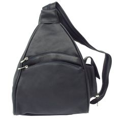 Piel Leather Two-Pocket Sling, Black, One Size Piel Leather http://www.amazon.com/dp/B000OTGNHG/ref=cm_sw_r_pi_dp_CJvFub1H74G7T