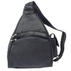 Piel Leather Two-Pocket Sling, Black, One Size Piel Leather http://www.amazon.com/dp/B000OTGNHG/ref=cm_sw_r_pi_dp_CJvFub1H74G7T