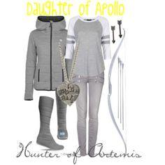 Daughter of Apollo Hunter of Artemis