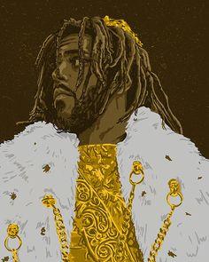 J. Cole / KOD illustration
