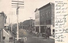 MI - 1907 Main Street at Flushing, Michigan - Genesee County