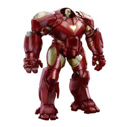 Iron Man's HulkBuster by CGHUB artist SIXMOREVODKA for Marvel's Avengers Initiative iOS game