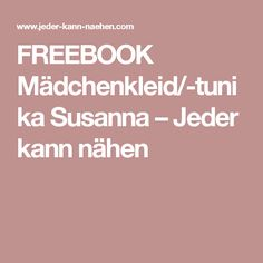 Freebook kleid susanna