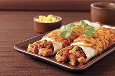 Cheesy Chicken Enchilada Dinner