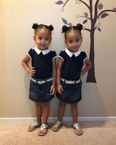 Jazelle Bolden&Janelle Bolden @boldentwins - Off to Church Yooying