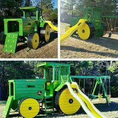 Spielplatz Traktor