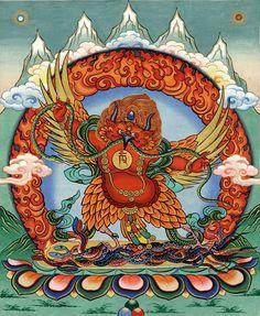 Vörös Garuda