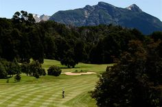 Golf Course at Llao Llao Hotel Bariloche, Argentina