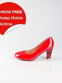 Red Babydoll High Heeled Shoes High Heels, Shoes Heels, Baby Dolls, Kitten Heels, Red, Stuff To Buy, Women, Fashion, Moda