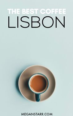 Lisbon is a city brimming with delicious, fresh food and charming cafes dotting its historic streets. Tasty coffee is no stranger to Lisbon. Check out this guide for the best coffee in Lisbon, Portugal. MAP INCLUDED! #coffee #cafe #lisbon #portugal
