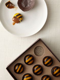 With a molten core of pure honeyed caramel and a spark of salt, they're all sweet, no sting.