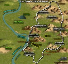 The Seven Hills of Rome - The Tale of Rome