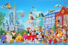 Celebration: By Manuel Hernandez, Disney Fine Art