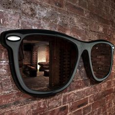 want this via Fancy - Looking Good Sunglasses Mirror