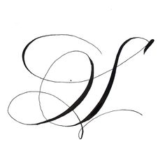 Letter S, inked and sketched! Calligraphy Fonts Alphabet, Calligraphy Cards, Calligraphy Drawing, Tattoo Lettering Fonts, Copperplate Calligraphy, Hand Lettering Alphabet, Graffiti Lettering, Types Of Lettering, Letras Tattoo