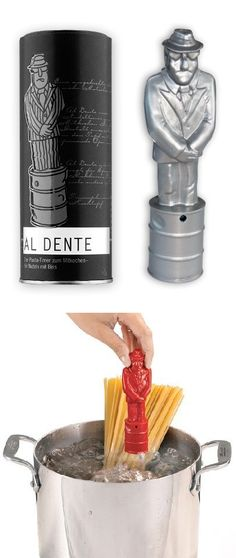 Pasta Man // sings OPERA when your noodles are ready! #product_design  I want to try this!!