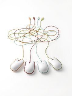 rinkak mouse by nendo, via @designmilk