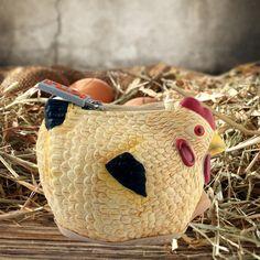 De originele kippen-portemonnee om je geld en andere kleine dingen op een…