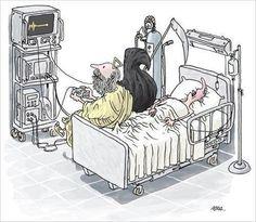 Sick nurse humor