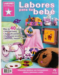Very cute things. Baby Crafts, Felt Crafts, Fabric Crafts, Sewing Crafts, Crafts For Kids, Crochet Gratis, Crochet Baby, Baby Sewing, Free Sewing