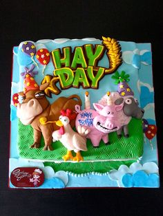 hay day cake - Google Search
