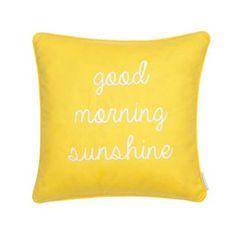 Riley Bright ''Good Morning Sunshine'' Throw Pillow $79.99