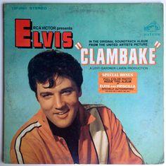 Elvis Presley - Clambake - Original Motion Picture Soundtrack LP Vinyl Record Album RCA Victor - LSP 3893 1967 Original Pressing