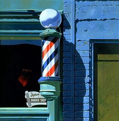 Barber shop around the corner