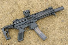 SIG MCX, their take of what you get when you mix an M4 & MP5.