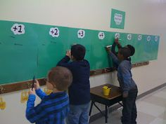 Math Facts Wall of Fame: celebrate achievements in math facts mastery