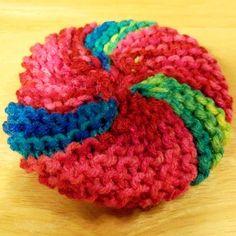 Knit Scrubbie for the kitchen