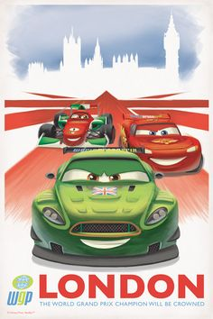 Vintage Posters for Cars 2