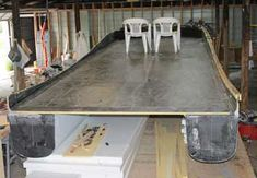 Rigid Foam Insulation, Boat Projects, Diy Boat, Boat Plans, Catamaran, Boating, Dining Table, Tropical, Create