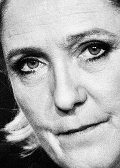 Marine Le Pen © Jérôme Sessini Magnum Photos
